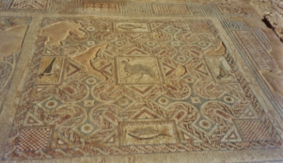 Roman mosaics, House of Eustolios, Kourion, Cyprus, Clio Ancient Art Antiquities