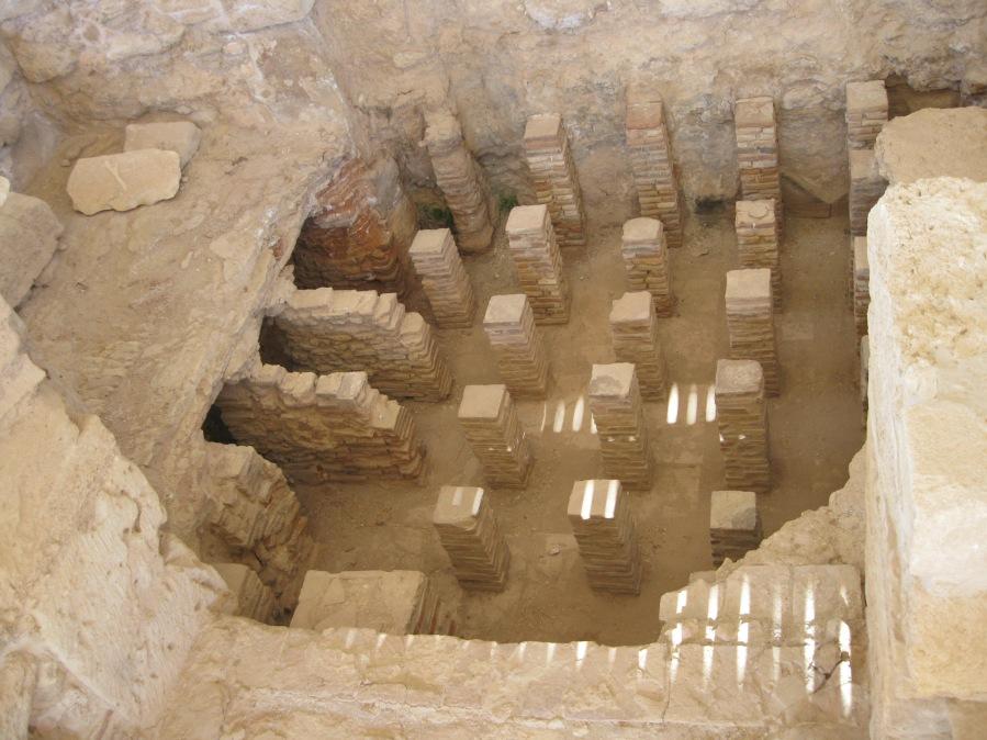 Roman Bath, Kourion, Cyprus, Clio Ancient Art Antiquities