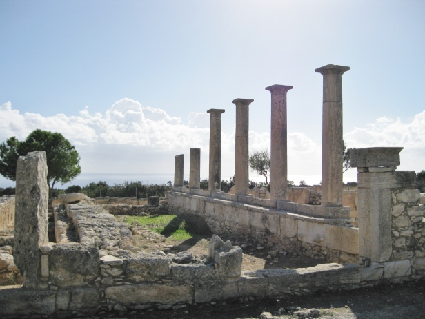 Temple of Apollo, Kourion, Cyprus, Clio Ancient Art Antiquities