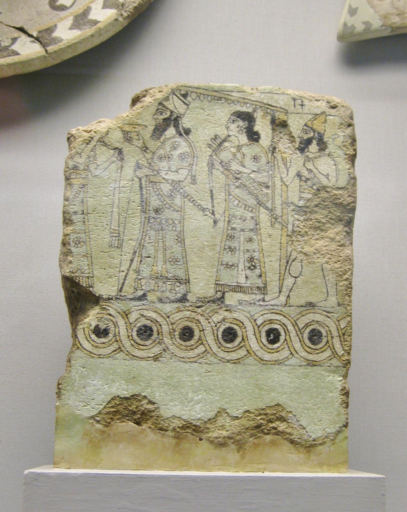 Clio ancient Assyrian art