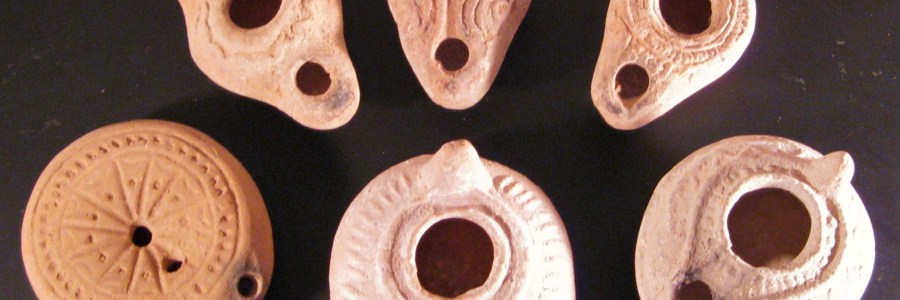 ancient oil lamps, holy land antiquities sale, Biblical artifacts, ancient art sale