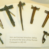 Roman Bronze Fibulae (Brooches)