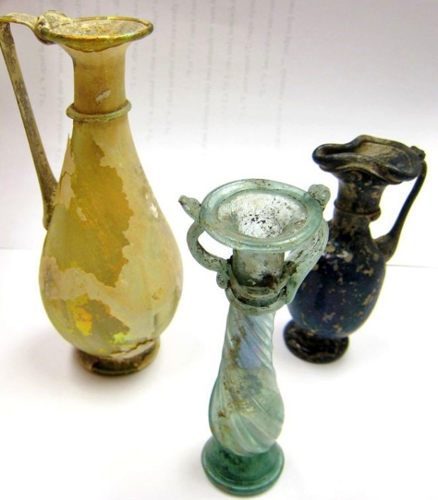 Mint Museum, Roman, Glass, Trust for Ancient Art