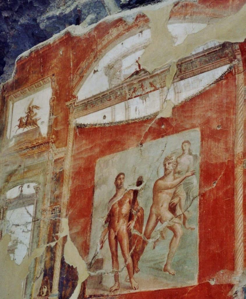 Hall of the Augustals, Battle of Hercules & Acheloo, Herculaneum