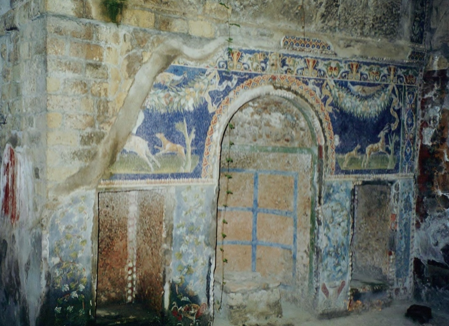 Nymphaeum opposite the Neptune Mosaic, House of the Neptune Mosaic, Herculaneum