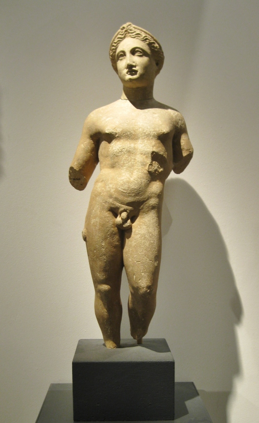 Apollo, Classical sculpture, Cypriot antiquities, Ashmolean Museum