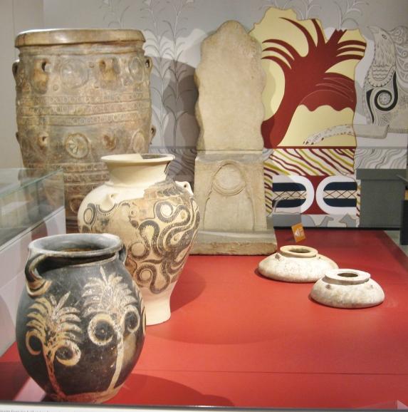 Knossos, Crete, Arthur Evans, Minoan, Ashmolean Museum, Clio Ancient Art Antiquities