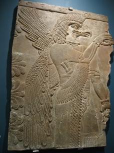 Assyrian art, Assyrian sculpture, Ashurnasirpal, Nimrud, Ashmolean Museum