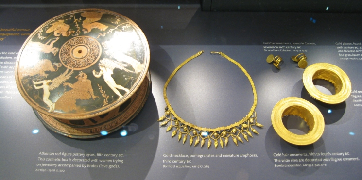 Greek antiquities, ancient Greek art, Ashmolean Museum, Clio Ancient Art Antiquities