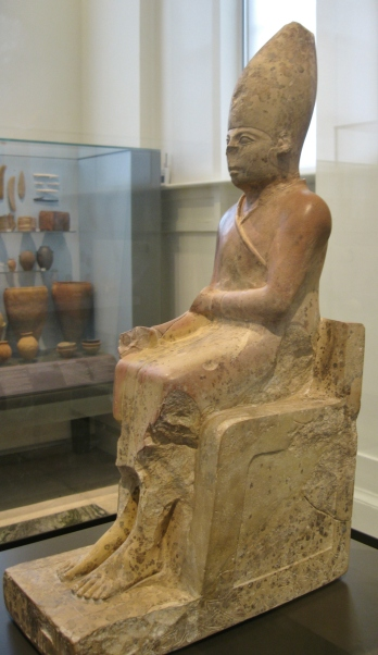 Khasekhem, 2ns Dynasty, Egyptian antiquities, Egyptian art, Ashmolean Museum, Oxford