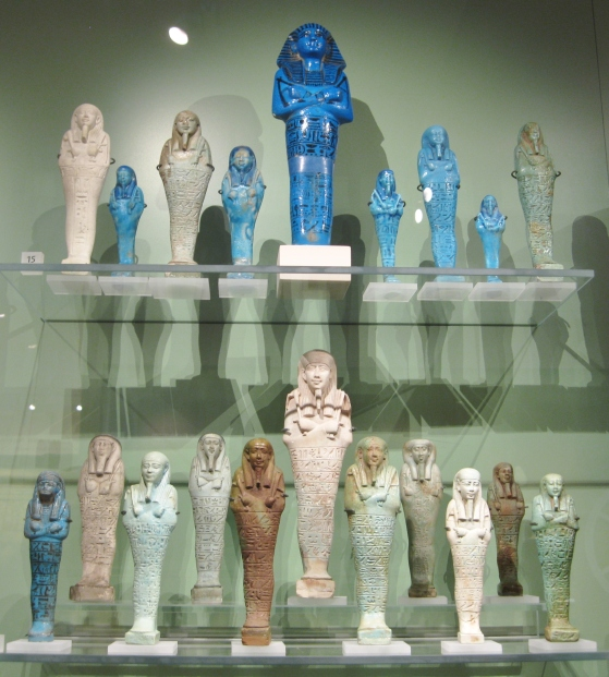 Egyptian shabtis, Egyptian ushabtis, Egyptian antiquities, Ashmolean Museum, Clio Ancient Art Antiquities