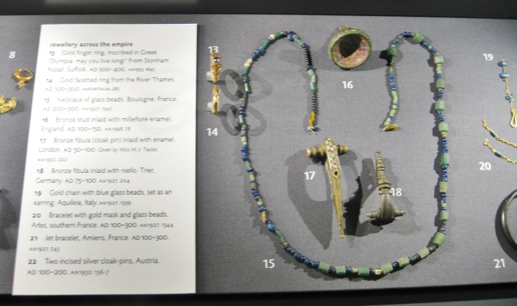 Roman jewelry, Roman art, Roman antiquities, Clio Ancient Art, Ashmolean Museum