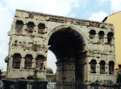 Arch of Janus, Roman antiquities, Aventine Hill, ancient Romw
