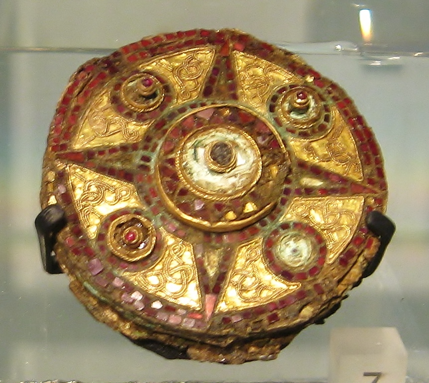 Saxon art, Saxon England, Saxon brooch, Museum of London