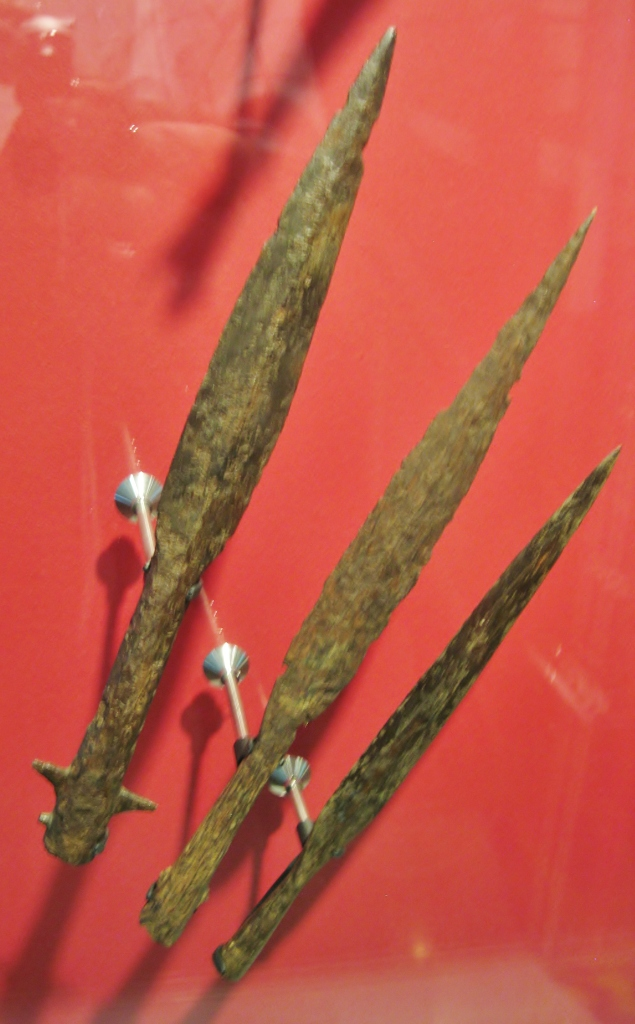 Viking spearheads, Viking weapons, Museum of London, Viking London