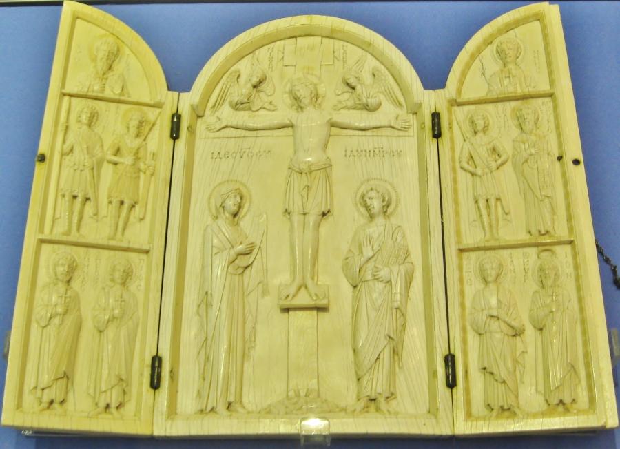Constantinople, Byzantine Art, Byzantine Empire, Byzantine triptych, Borradaile tryptych