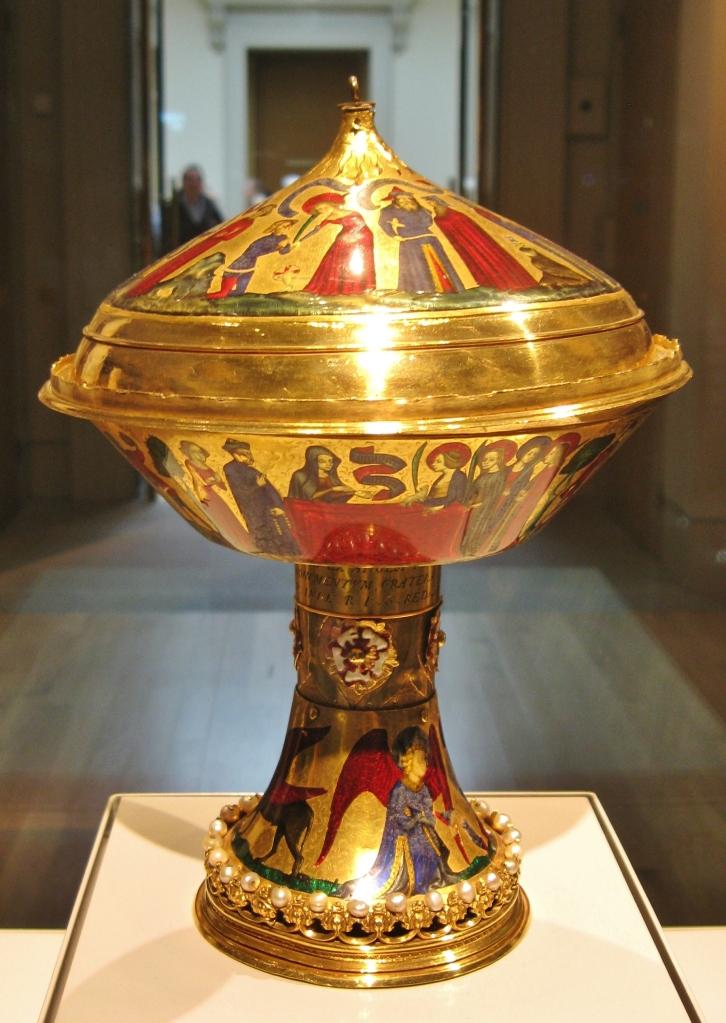 Royal Gold Cup, British Museum, Duc de Berry
