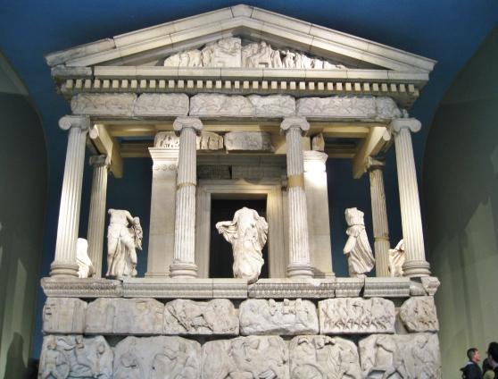 Greek antiquities in the british museum london clio
