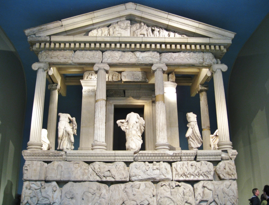 Nereid Monument, Lykian tombs, Xanthos, East Greek sculpture, ancient Greek art, British Museum