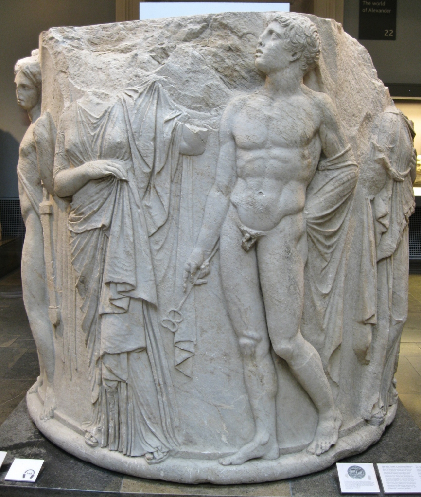 Temple of Artemis at Ephesus, British Museum, Greek sculpture, Greek antiquities, ancient Greek art