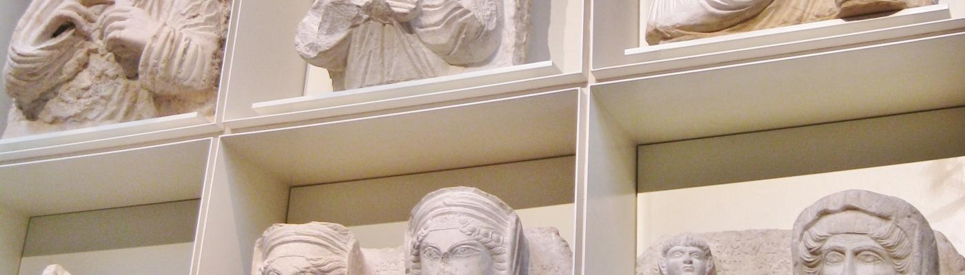 Clio Ancient Art, Palmyra, Palmyrene Sculpture, antiquities, British Museum