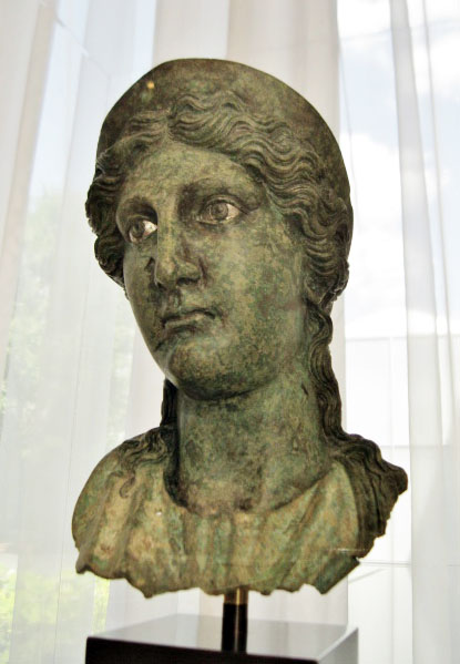 Livia, Roman bronze sculpture, Augustan art, Roman antiquities