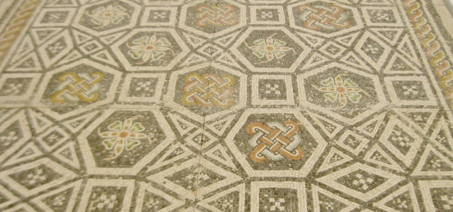 Roman mosaic, mosaic floor, Roman art, ancient Rome, Roman antiquities, North Carolina Museum of Art
