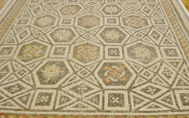 Roman mosaic, mosaic floor, Roman art, ancient Rome, Roman antiquities, North Carolina Museum of Art