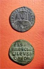 Byzantine Empire, Bronze Follis of Leo VI, AD 886-912