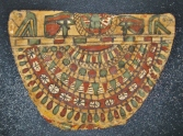 Egyptian Painted Funerary Collar; Late Dynastic or Ptolemaic Period