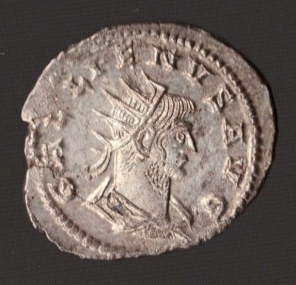Roman Empire, Silver Antininianus of Gallienus AD 253-268