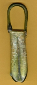 Roman Glass Double Kohl Tube 4th-5th Century AD