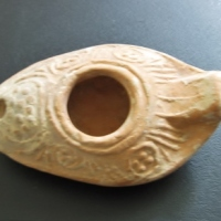 Object of the Week: A Superb Byzantine Pottery Oil Lamp