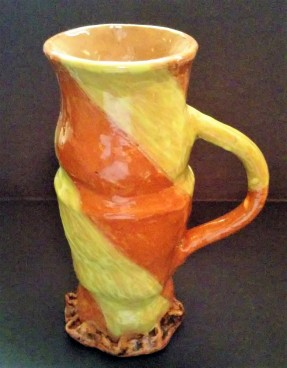 Ceramic historic reproduction late Medieval tankard