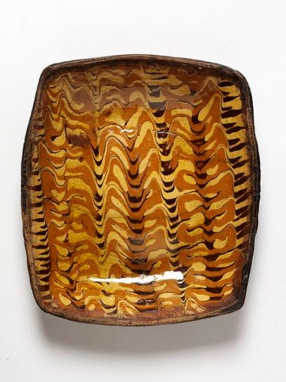 slip trailed english pottery