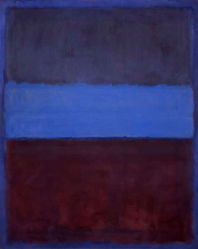 Mark Rothko, Rothko paintings, abstraction, expressionism