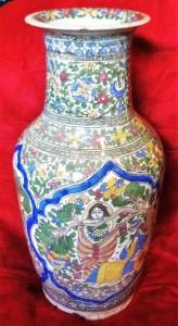 clio ancient art, Islamic ceramics, Qajar pottery, Islamic art