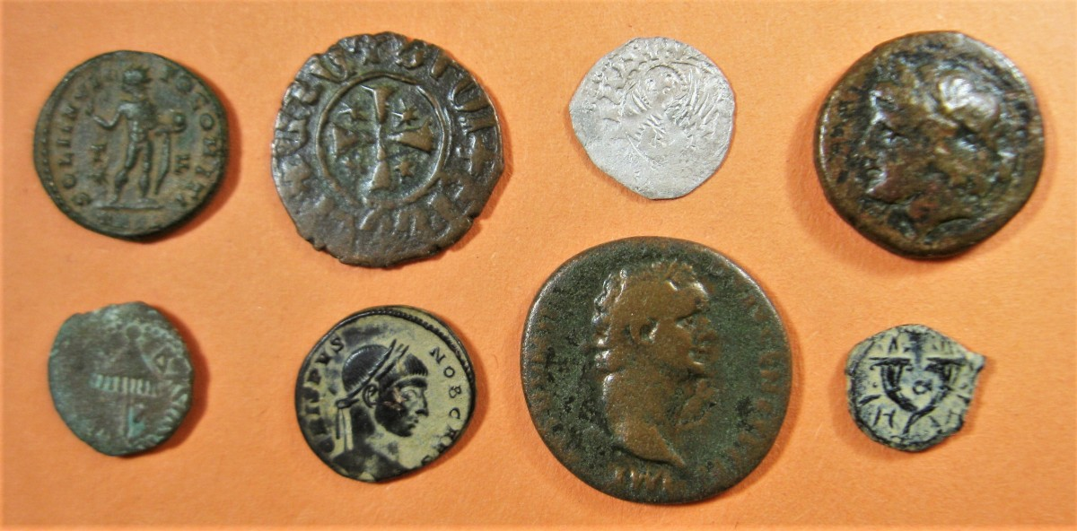 A selection of ancient coins added to our online shops