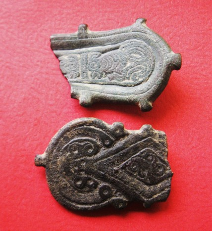 visigoth antiquities, clio ancient art, visigoth belt buckles