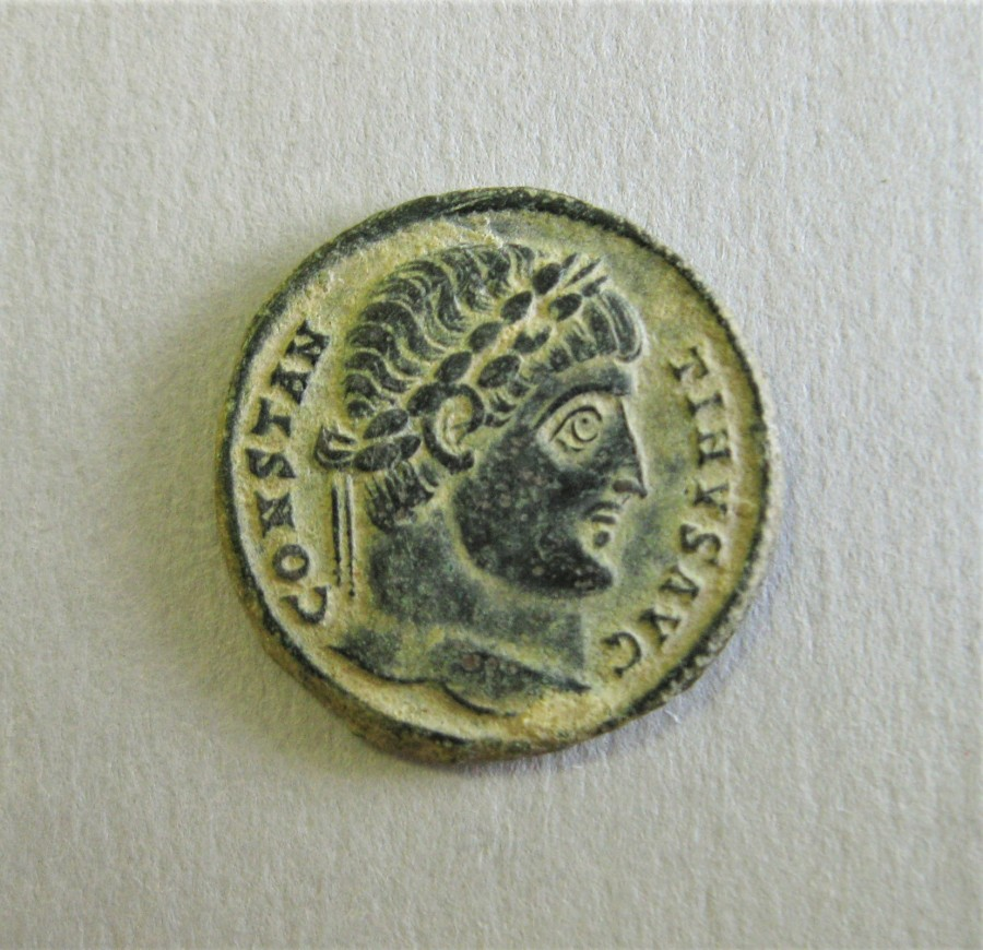 Constantine Coins, Roman coins, Roman antiquities, ancient coins, Roman Empire, Ancient Rome, Late Antiquity