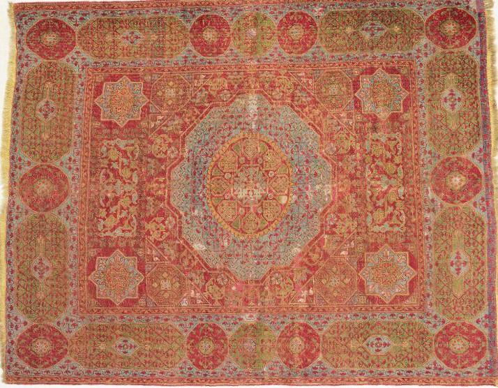 Mamluk Carpet Cairo 1475-1500 V&A Museum