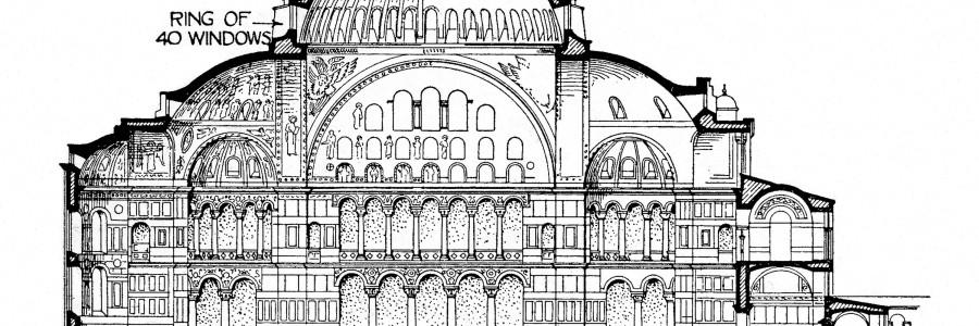 Hagia Sophia, Byzantium, Byzantine Empire, Byzantine Architecture